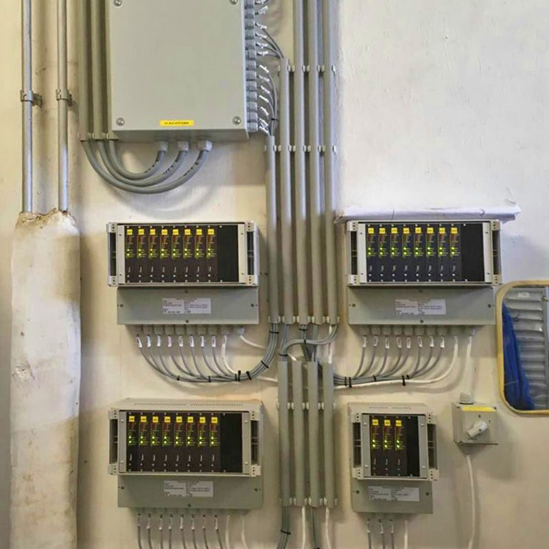 27 csatornás helyhez kötött ipari ammónia (NH3) érzékelő rendszer Többcsatornás gázérzékelőnk ammóniára hitelesítve (helyhezkötött)